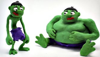 Hulk Fat or Skinny Baby Superheroes...