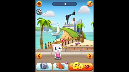 Game Talking Angela Chạy Lấy...