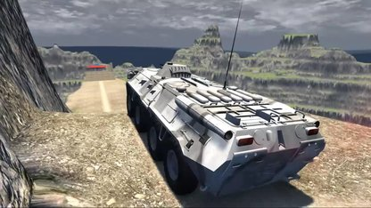 Beamng drive - Throwing Cars At UFO...