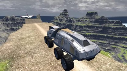 Beamng drive - Throwing Cars At...
