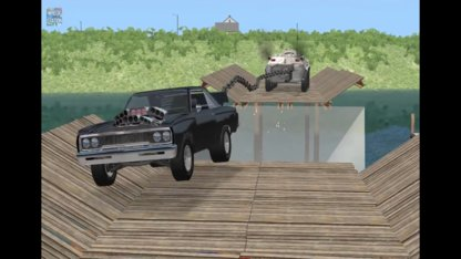 Beamng drive - Tug of War Crashes #2...