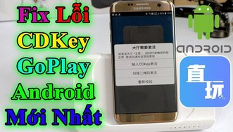 Fix Lỗi CD KEY HandJoy App Goplay...