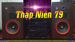 Disco Test Loa Thập Niên 79 CD...
