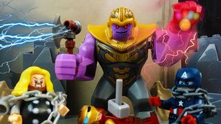 LEGO Thanos chiến thắng trong...