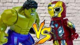 LEGO Iron Man vs Hulk , Spiderman ,...