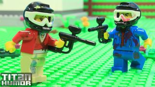 Lego Paintball Game | Kỳ Diệu...