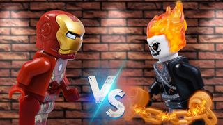 LEGO Iron Man vs Ghost Rider  #2 |...