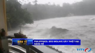 Philippines: Bão Molave gây thiệt...